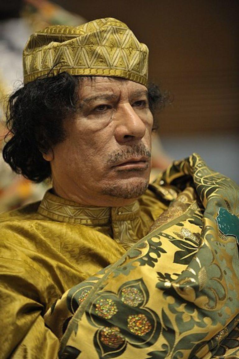 Gaddafi benötigt post mortem Hilfe
