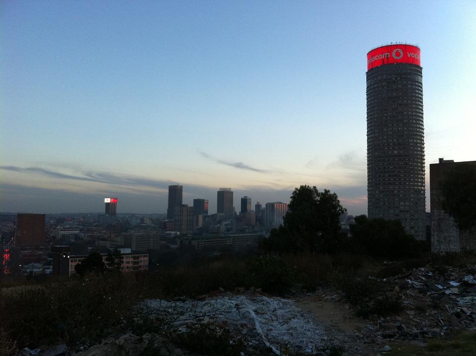 Johannesburg, South Africa , Vodafon , Downtown