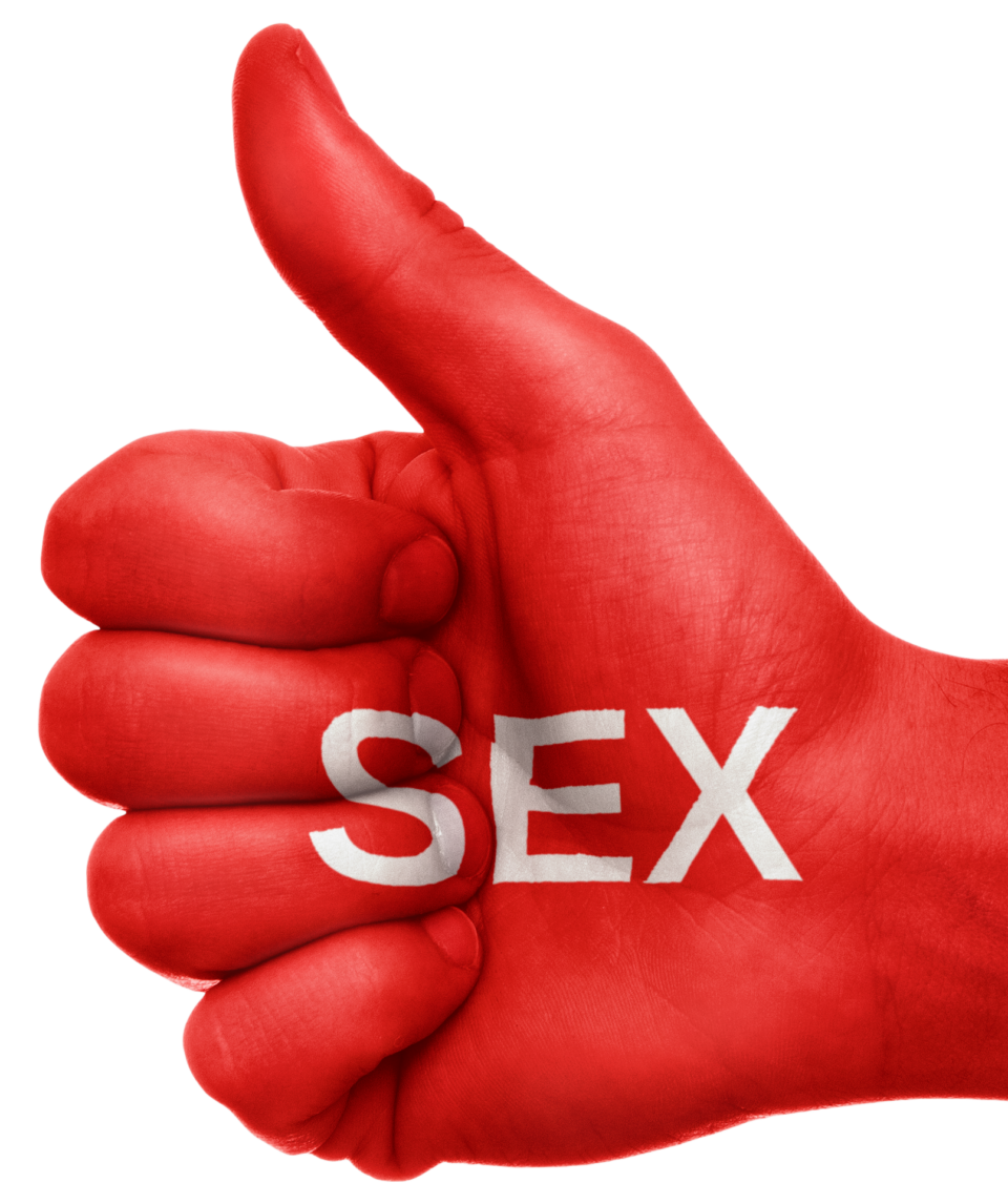 sex, thumbs up, sexuality